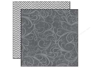 Echo Park Paper 12x12 Style Ess Up Grey Flourish (25 sheets)