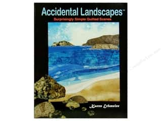 Clearance Blumenthal Favorite Findings: Quilted Lizard Accidental Landscapes Book
