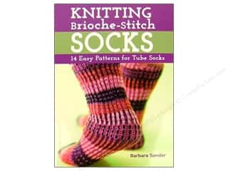 Crochet & Knit: Knitting Brioche Stitch Socks Book