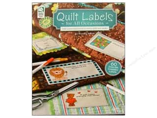 Quilt Labels For All Occasions Book