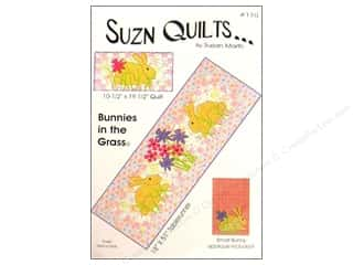 Patterns $10 - $120: Suzn Quilts Bunnies In The Grass Pattern