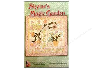 Black Cat Creations Quilting Patterns: Black Cat Creations Skylar's Magic Garden Pattern