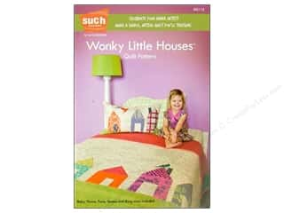 Vanilla House Quilting Patterns: Such Designs Wonky Little Houses Quilt Pattern