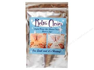 Cleaners and Removers Sewing & Quilting: Retro Clean Fabric Cleaner Mylar Bag 1lb