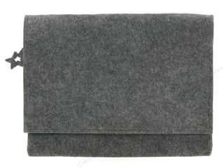 Feltables Fashion Blank Full Flap Clutch Grey