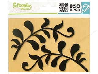 Feltables Iron On Designs: Feltables Fashion Iron On Leaves 2pc