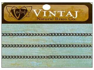 Vintaj Finding Chain 24&quot; DelicateCurb 2mm NatBrass