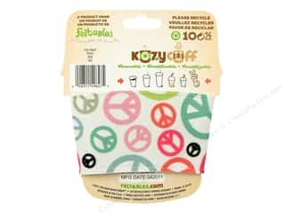 Feltables Kozy Cuff Beverage Sleeve Peace