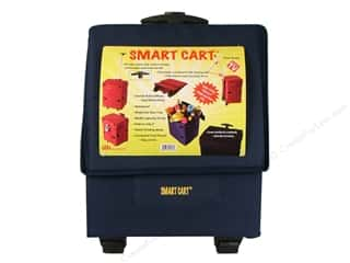 DBest Products Smart Cart 18&quot;x 13&quot;x 5&quot; Navy Blue