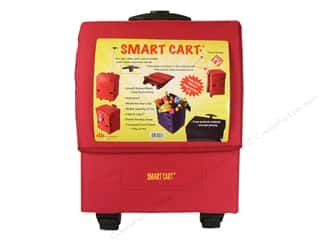 DBest Products Smart Cart 18&quot;x 13&quot;x 5&quot; Red