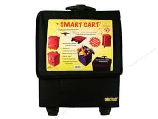 DBest Products Smart Cart 18&quot;x 13&quot;x 5&quot; Black