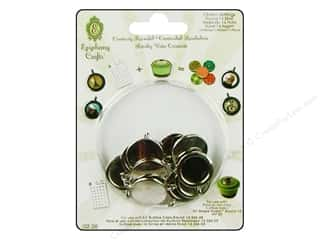 Epiphany Accessories Metal Charm Set Rnd 14 Slvr