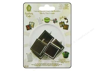 Epiphany Accessories Metal Charm Set DS Sq 25 Slvr