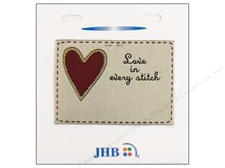 JHB Sweetheart Labels Love In Every Stitch