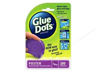 Glue Dots Dispenser Poster 3/8 in. 200pc