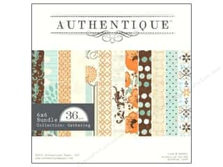 Authentique Paper Bundle 6 x 6 in. Gathering 36pc