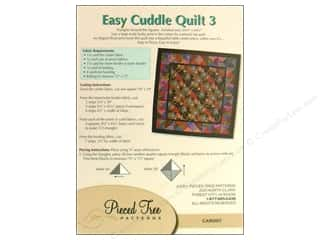 "Pieced Tree Patterns 10"": Pieced Tree Big Cards Easy Cuddle 3 Pattern"