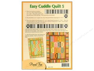 Borders $5 - $9: Pieced Tree Big Cards Easy Cuddle 5 Pattern