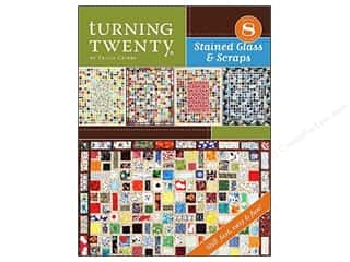 Turning Twenty Stained Glass & Scraps Book