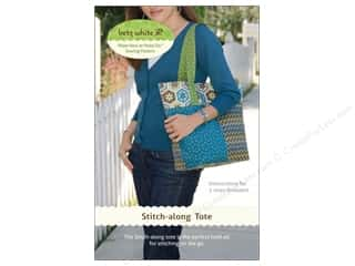 Purse Making Yarn & Needlework: Betz White Stitch Along Tote Pattern