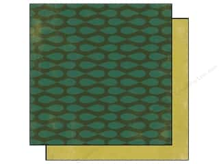 Authentique 6 x 6 in. Paper Free Bird Collection Oval Green (25 sheets)