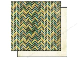 Authentique 6 x 6 in. Paper Free Bird Comfort Chevron Assorted (25 sheets)