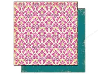 Authentique Paper 6x6 Free Bird Delight Damask Pnk (25 sheets)