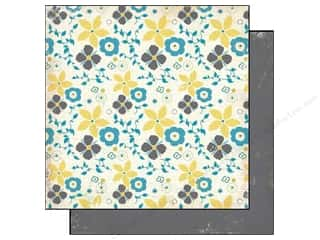 Authentique Paper 6x6 Free Bird Fair Wthr Floral (25 sheets)