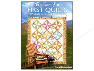 Weekly Specials Fairfield Quilter's 80/20 Batting: Fast And Fun First Quilts Book