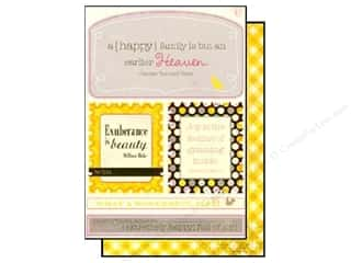 Authentique Die Cut Blissful Excerpts (12 sheets)