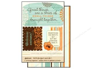 Authentique Die Cut Gathering Excerpts (12 sheets)
