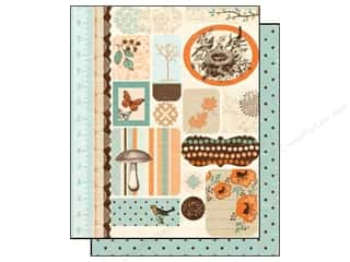 Authentique Paper Die Cuts / Paper Shapes: Authentique Die Cuts Gathering Icons (12 sheets)