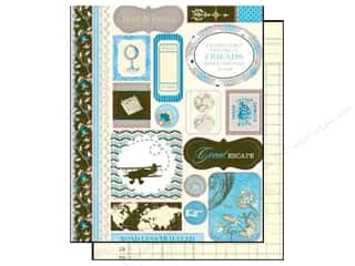Tim Holtz Paper Die Cuts / Paper Shapes: Authentique Die Cuts Journey Icons (12 sheets)