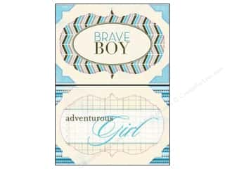 Authentique Die Cut Journey Headlines 2 (12 sheets)