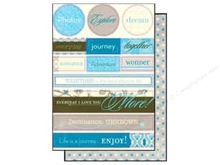 Authentique Die Cut Journey Noteables (12 sheets)