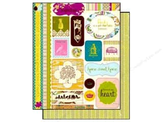 Authentique Authentique Die Cuts: Authentique Die Cuts Splendid Icons (12 sheets)