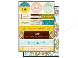 Authentique Die Cut Splendid Noteables (12 sheets)