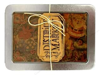 Holiday Gift Ideas Sale Mettler Thread Gift Sets: Tim Holtz District Market Notecard Set Tidings