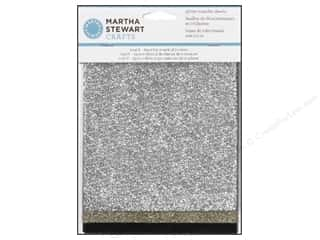 Plaid Basic Components: Martha Stewart Transfer Sheets by Plaid Glitter Mineral 6 x 7 in.