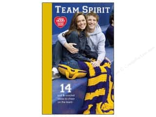 Hearts Books & Patterns: Red Heart Team Spirit Book