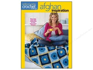 Clearance Books: Editor's Picks Crochet Afghan Inspiration Book