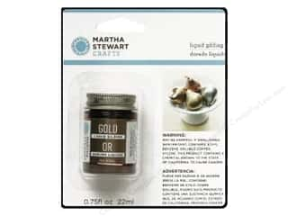Liquid Glides: Martha Stewart Liquid Gilding by Plaid Gold