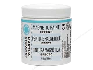 acrylic paint: Martha Stewart Effect by Plaid Magnetic Paint 4oz