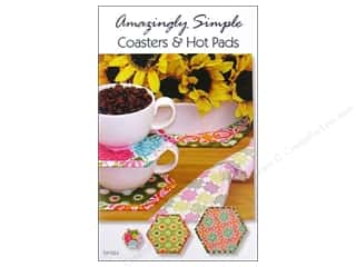 Books & Patterns Hot: Tiger Lily Press Amazingly Simple Coaster & Hot Pads Pattern