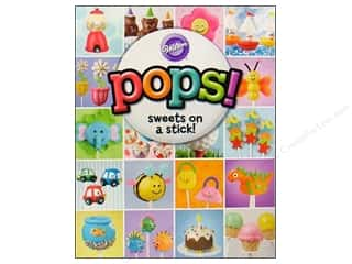 Books & Patterns Cooking/Kitchen: Wilton Pops! Sweets On A Stick! Book