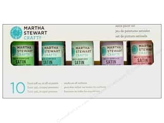 Martha Stewart Craft Paint Set Satin 2oz