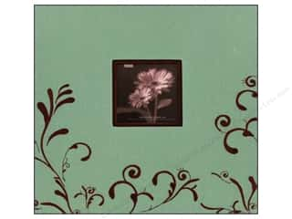 Pioneer Scrapbook 12x12 Scroll Frame Aqua/Brown