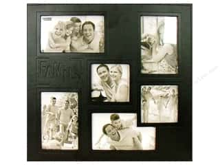 Pioneer Scrapbook 12x12 Leatherette Colg FamilyBlk