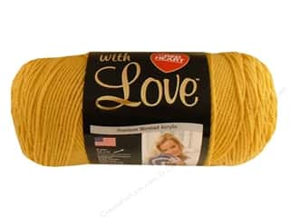 Yarn Red Heart With Love Yarn: Red Heart With Love Yarn #1207 Cornsilk 7oz.