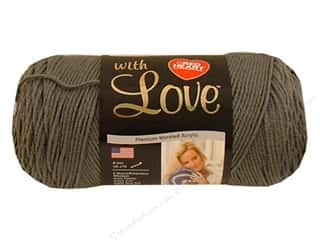 Yarn Red Heart With Love Yarn: Red Heart With Love Yarn #1401 Pewter 7oz.